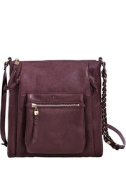 Elliott Lucca Cabernet Leather Crossbody - Product Mini Image