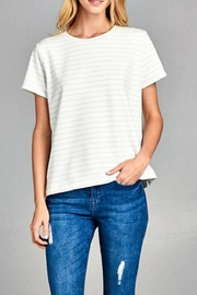 Ellison Blurred Lines Tee - Front cropped