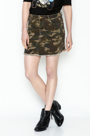 Ellison Camo Mini Skirt - Product Mini Image