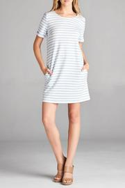 Ellison Casual Stripe Dress - Product Mini Image