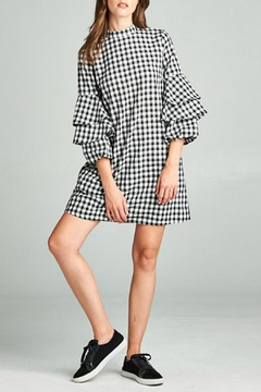 Shoptiques Product: Checkered Dress