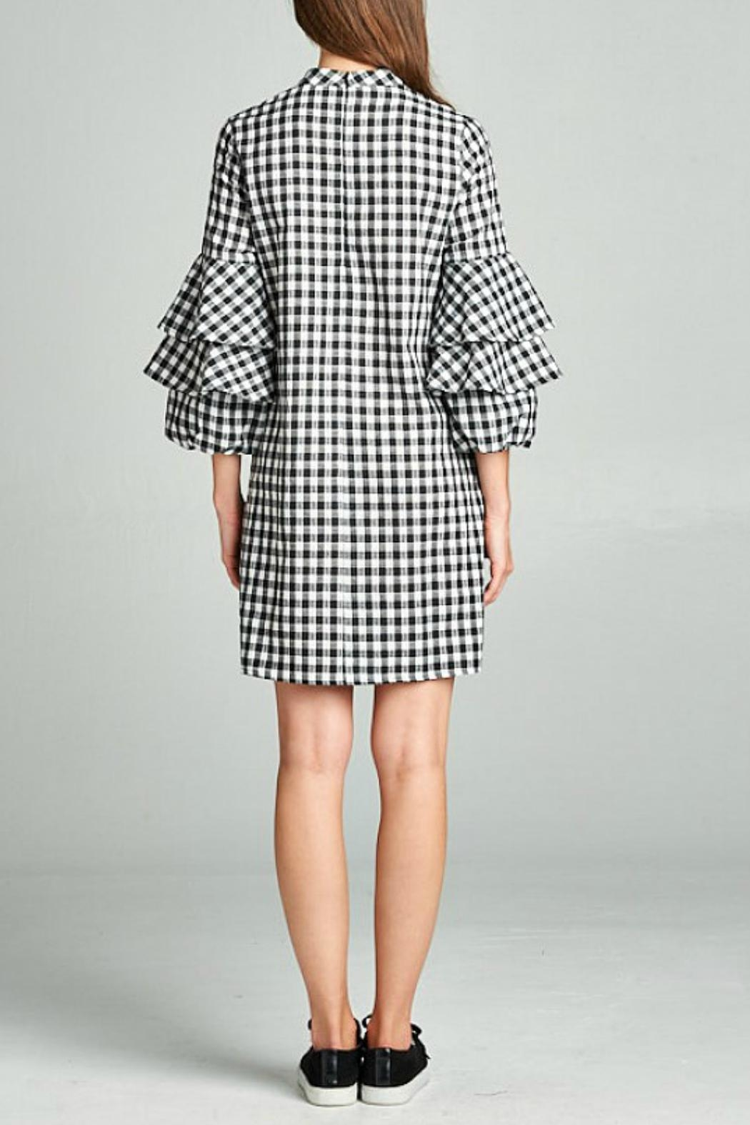 Ellison Checkered Dress - Side Cropped Image