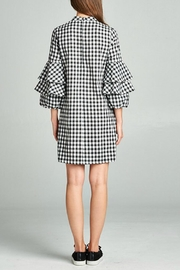Ellison Checkered Dress - Side cropped