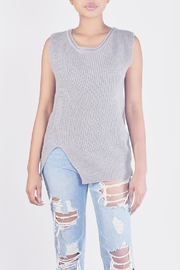 Ellison Chic Sleevless Knit-Top - Side cropped