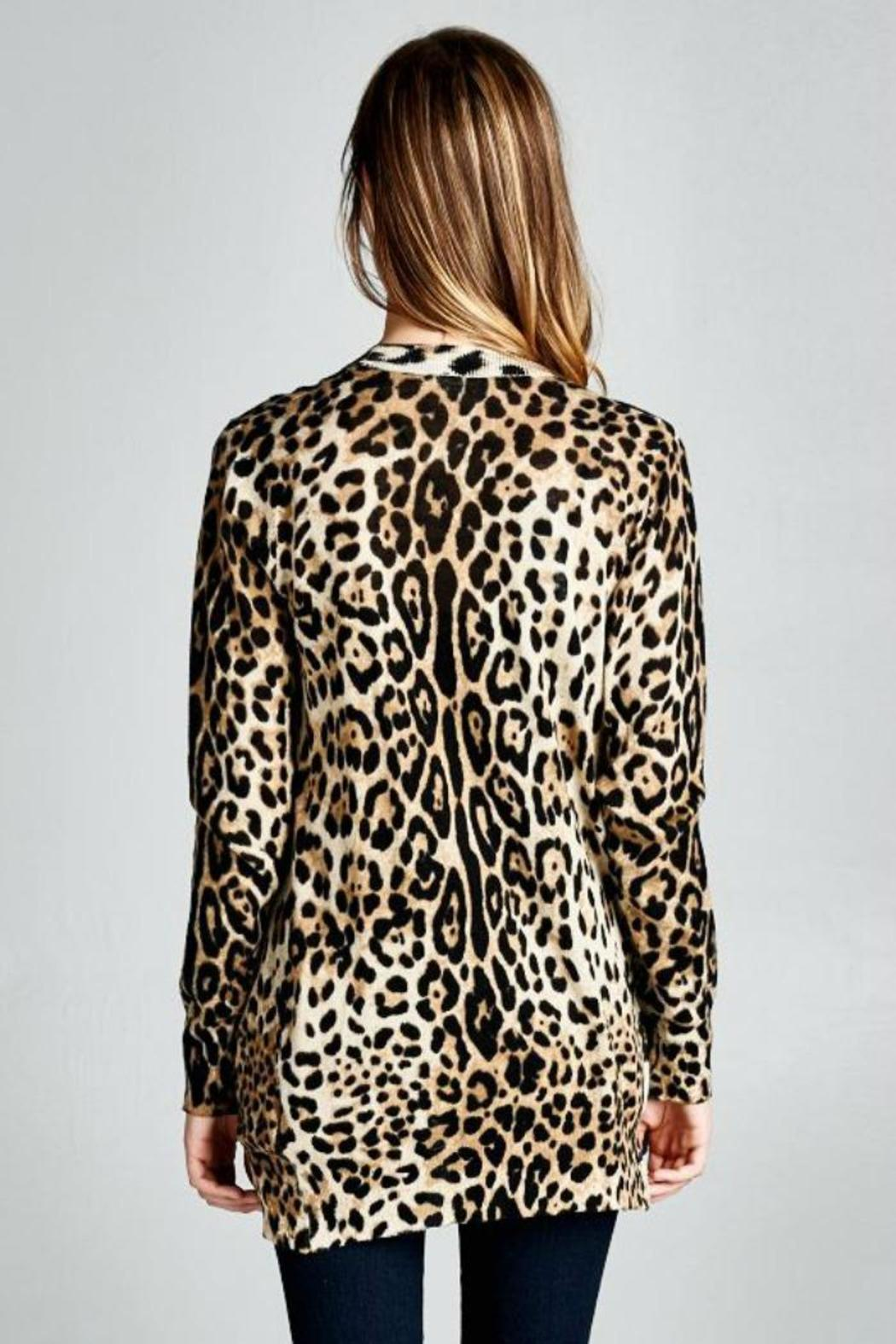 Ellison Classic Leopard Cardigan from Oklahoma by Sassy Sisters ...