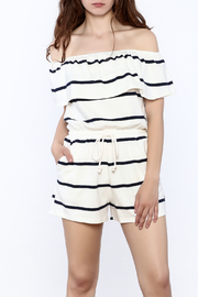 Shoptiques Product: Striped Summer Romper