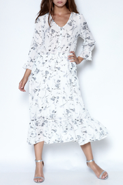 Ellison Floral Midi Dress - Product Mini Image