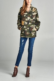 Ellison Glam Fighter Camo - Front cropped
