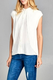 Ellison Layered Button-Down Blouse - Product Mini Image
