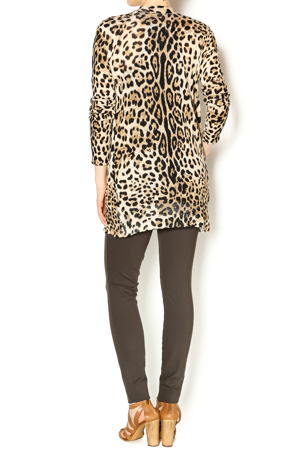 Ellison Leopard Cardigan from New York City by Dor L'Dor — Shoptiques