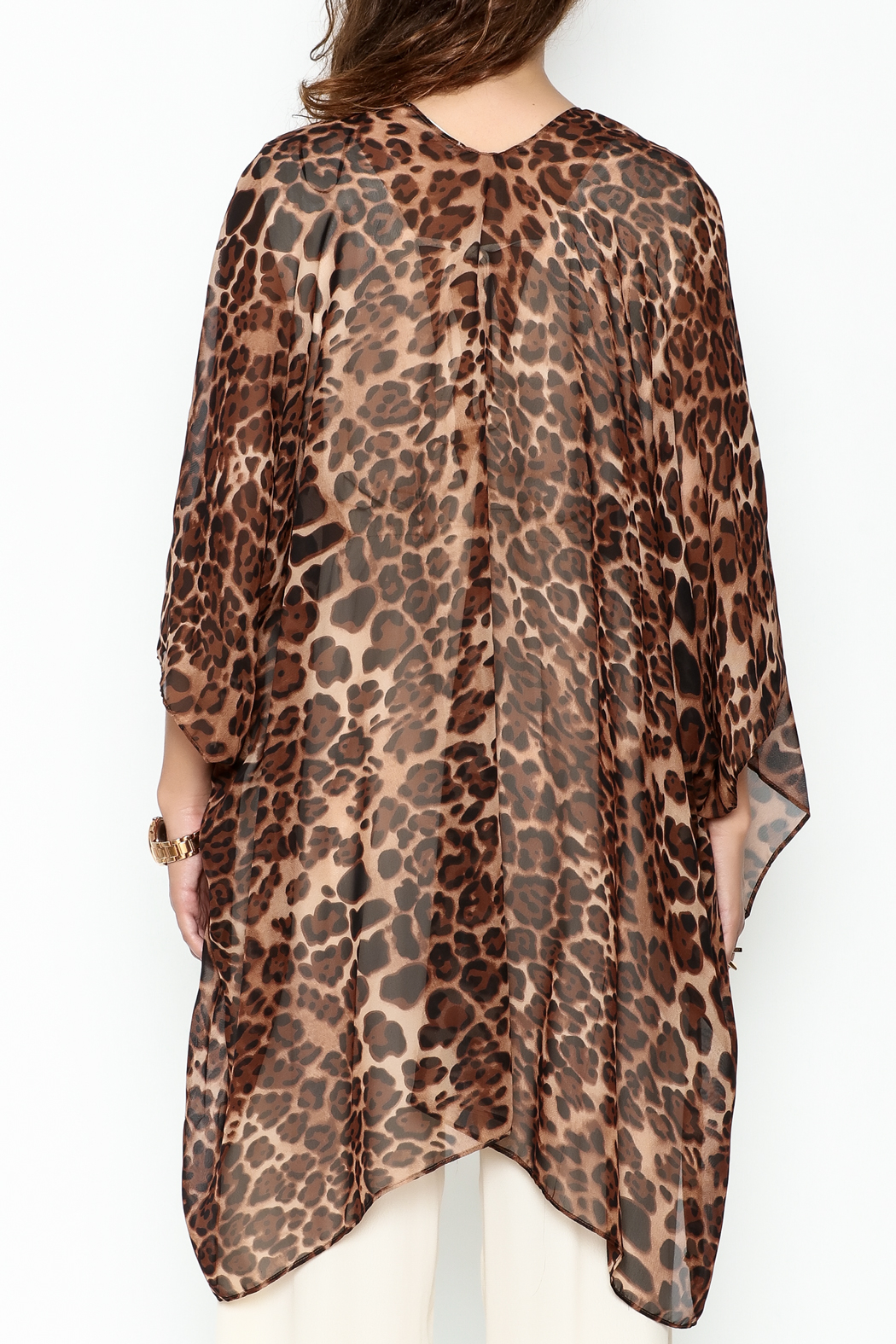 Ellison Leopard Print Kimono from New York City by Dor L'Dor ...