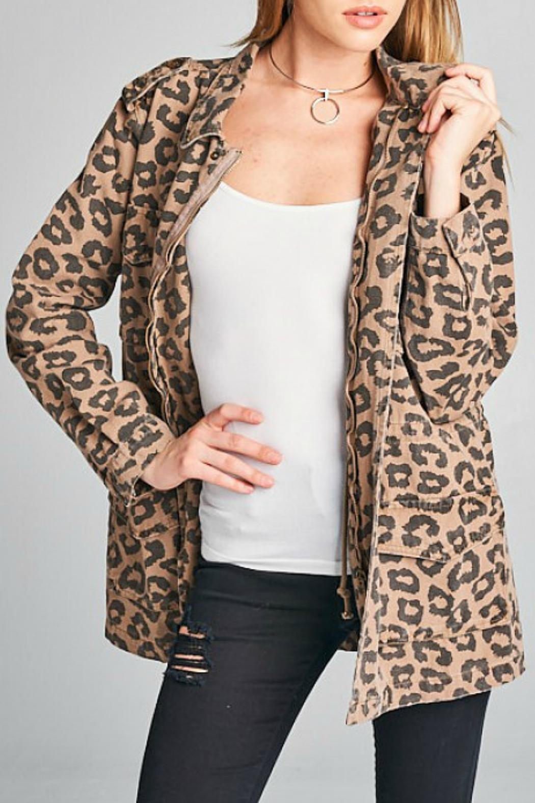 Ellison Leopard Utility Jacket from Texas by It's Swice — Shoptiques