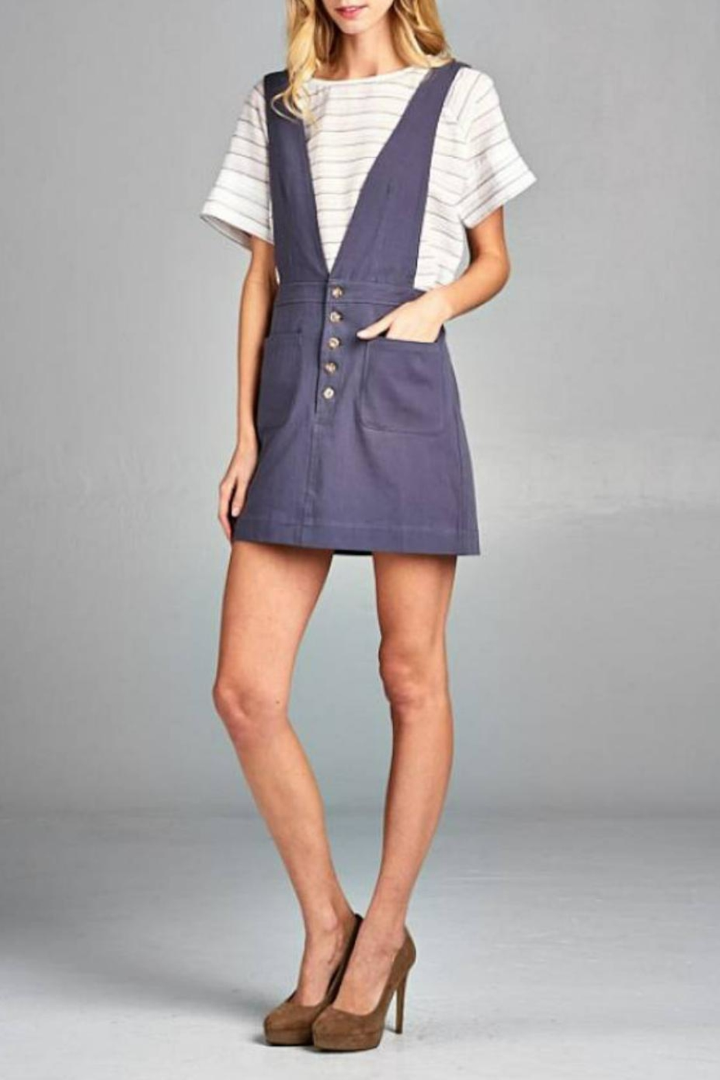 Ellison Overall Skirt - Main Image