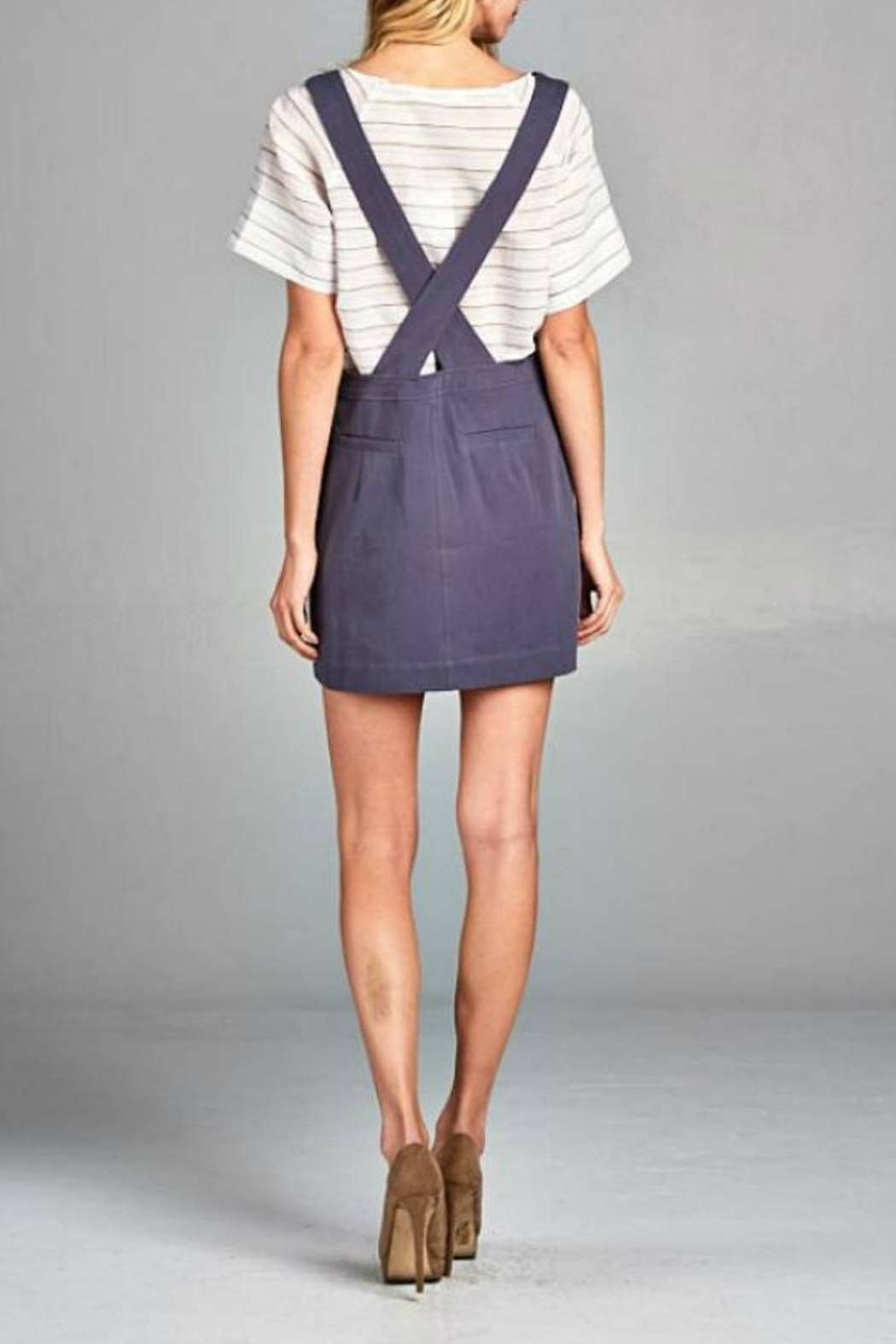 Ellison Overall Skirt - Side Cropped Image