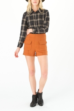 Shoptiques Product: Persimmon Orange Shorts