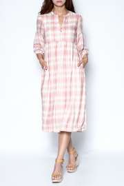 Ellison Pink Plaid Dress - Product Mini Image
