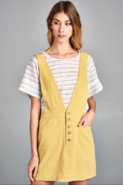 Ellison Retro Overall Skirt - Side cropped