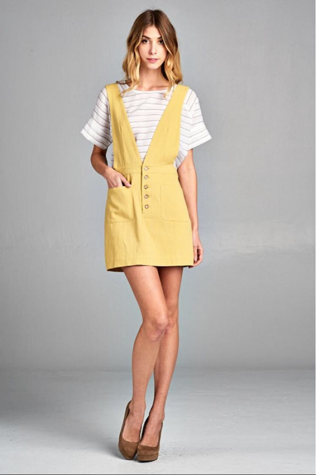 Ellison Retro Overall Skirt - Main Image