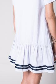 Ellison Ruffled Hem Dress - Back cropped