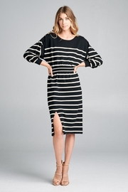 Ellison Stripe Knit Dress - Product Mini Image