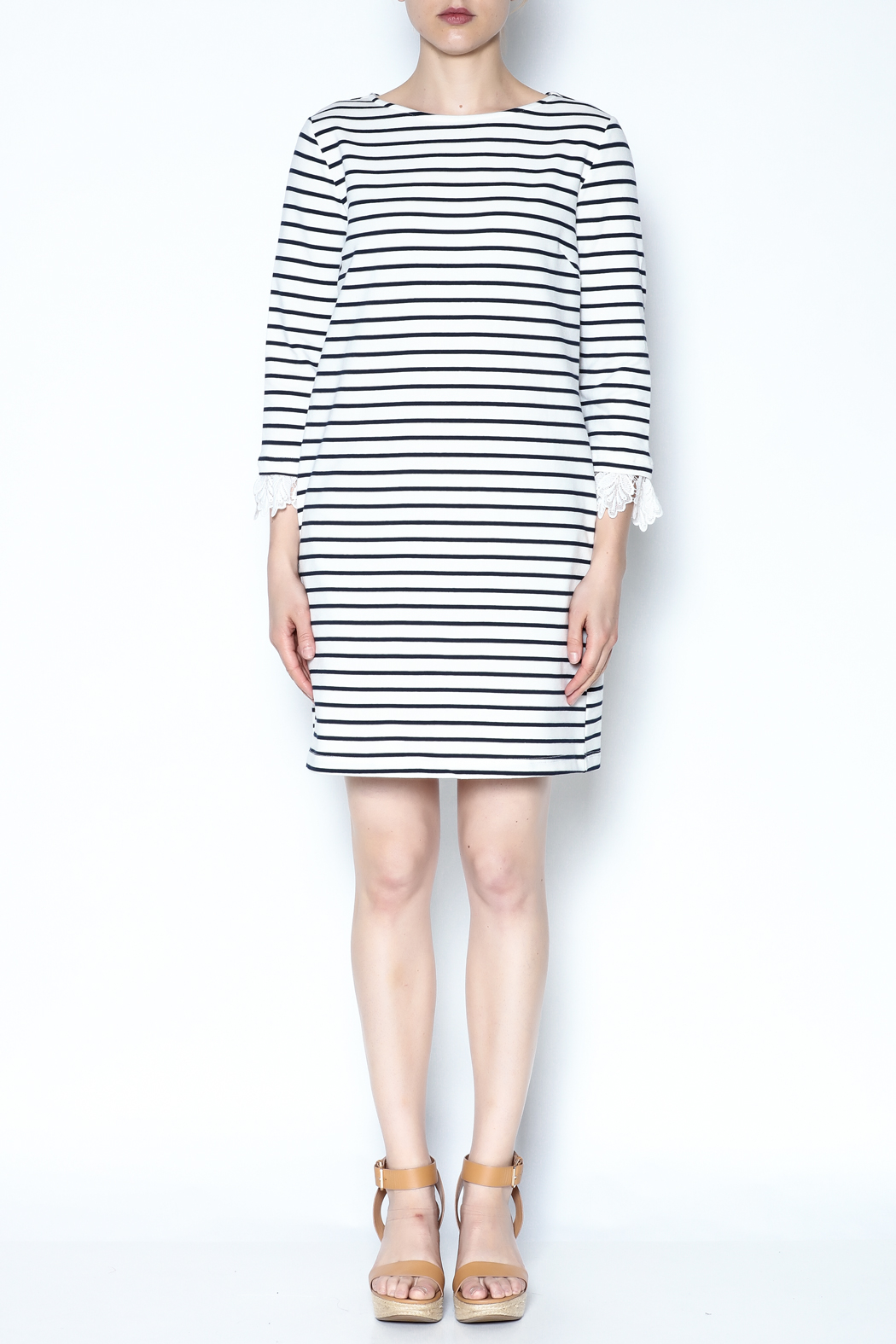Ellison Striped Dress - Front Full Image