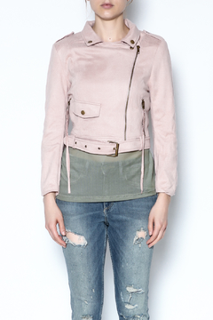 Shoptiques Product: Suede Cropped Jacket