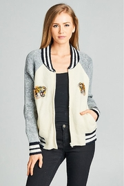 Ellison Sweater Varsity Jacket - Product Mini Image