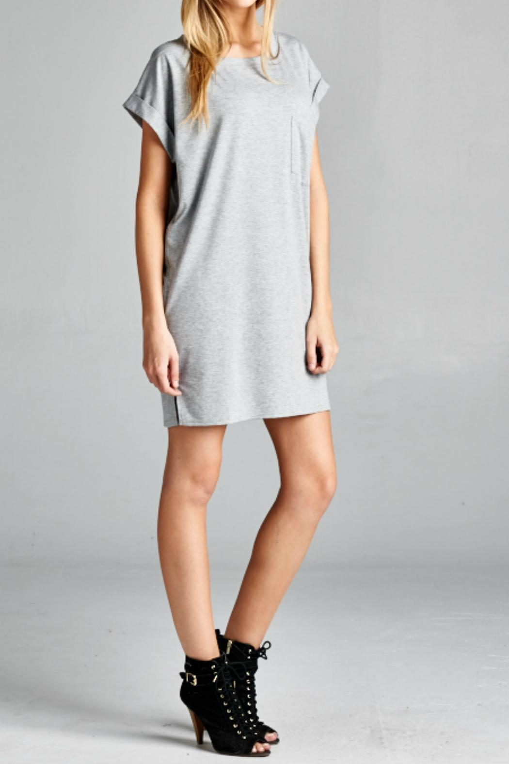 Ellison apparel grey t shirt tunic from florida by momni for Is a tunic a dress or a shirt