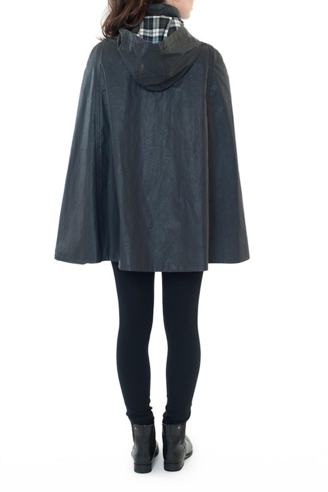 Ellsworth Amp Ivey Wax Cotton Cape From Greenville By Black