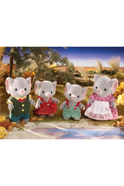 Calico Critters Ellwoods Elephant Family - Front full body