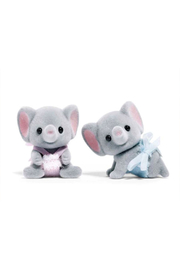 Calico Critters Ellwoods Elephant Twins - Front cropped