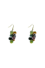 Elly Preston Cluster Earrings - Product Mini Image