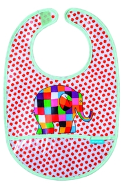 Elmer Bib  Elephant - Product Mini Image