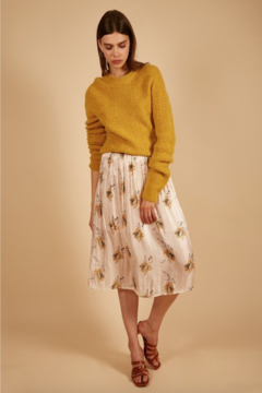 FRNCH Elodia Floral Midi Skirt - Product List Image