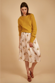 FRNCH Elodia Floral Midi Skirt - Product Mini Image