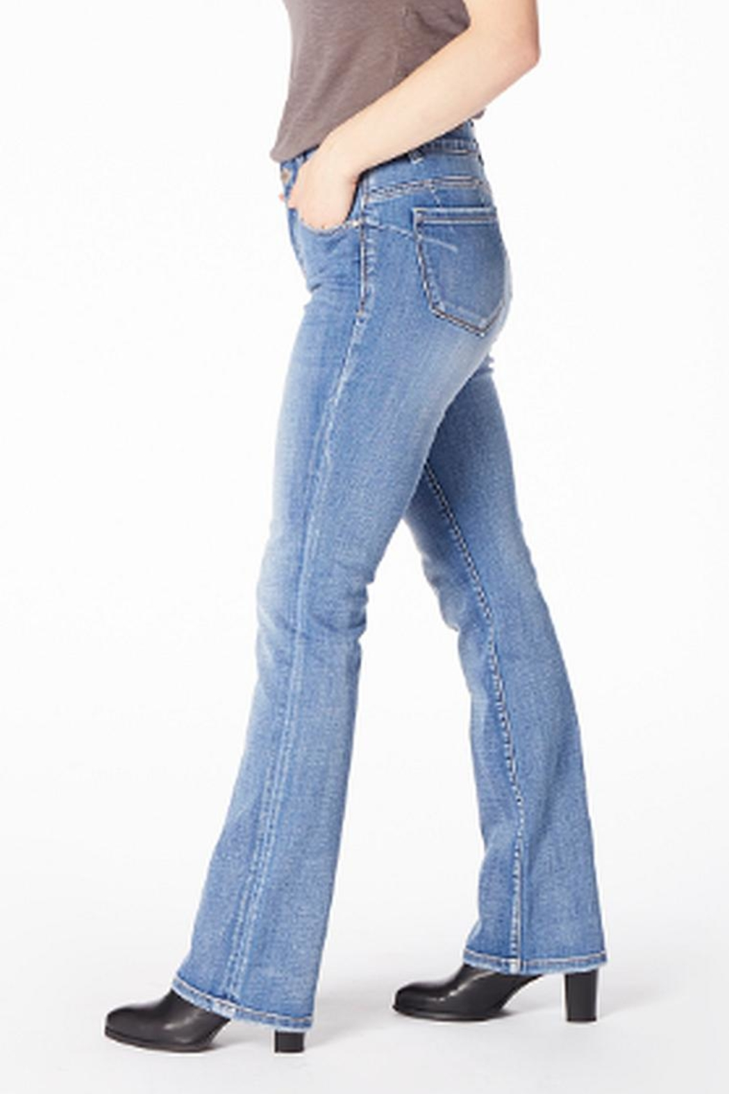 JAG Eloise Boot Jeans - Side Cropped Image