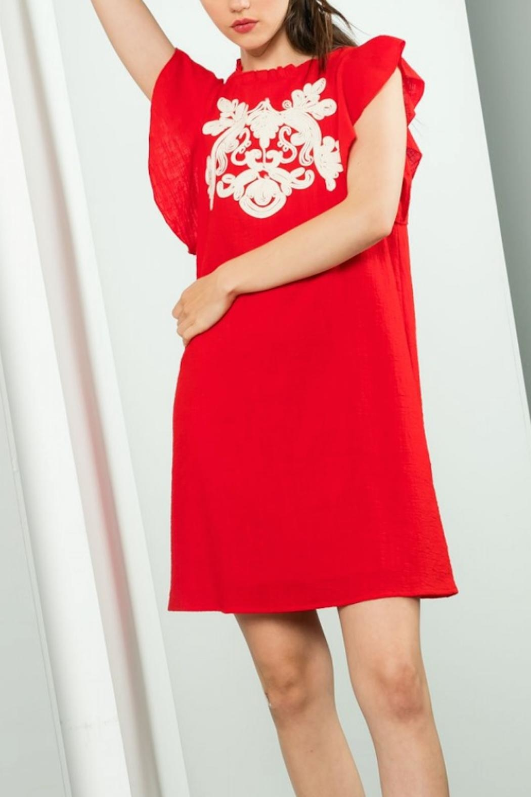 THML Clothing Eloise Dress - Front Full Image