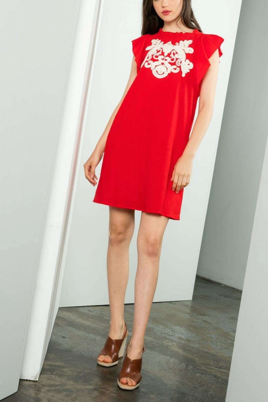 THML Clothing Eloise Dress - Front Cropped Image