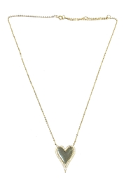 Lets Accessorize Elongated Heart Necklace - Product Mini Image