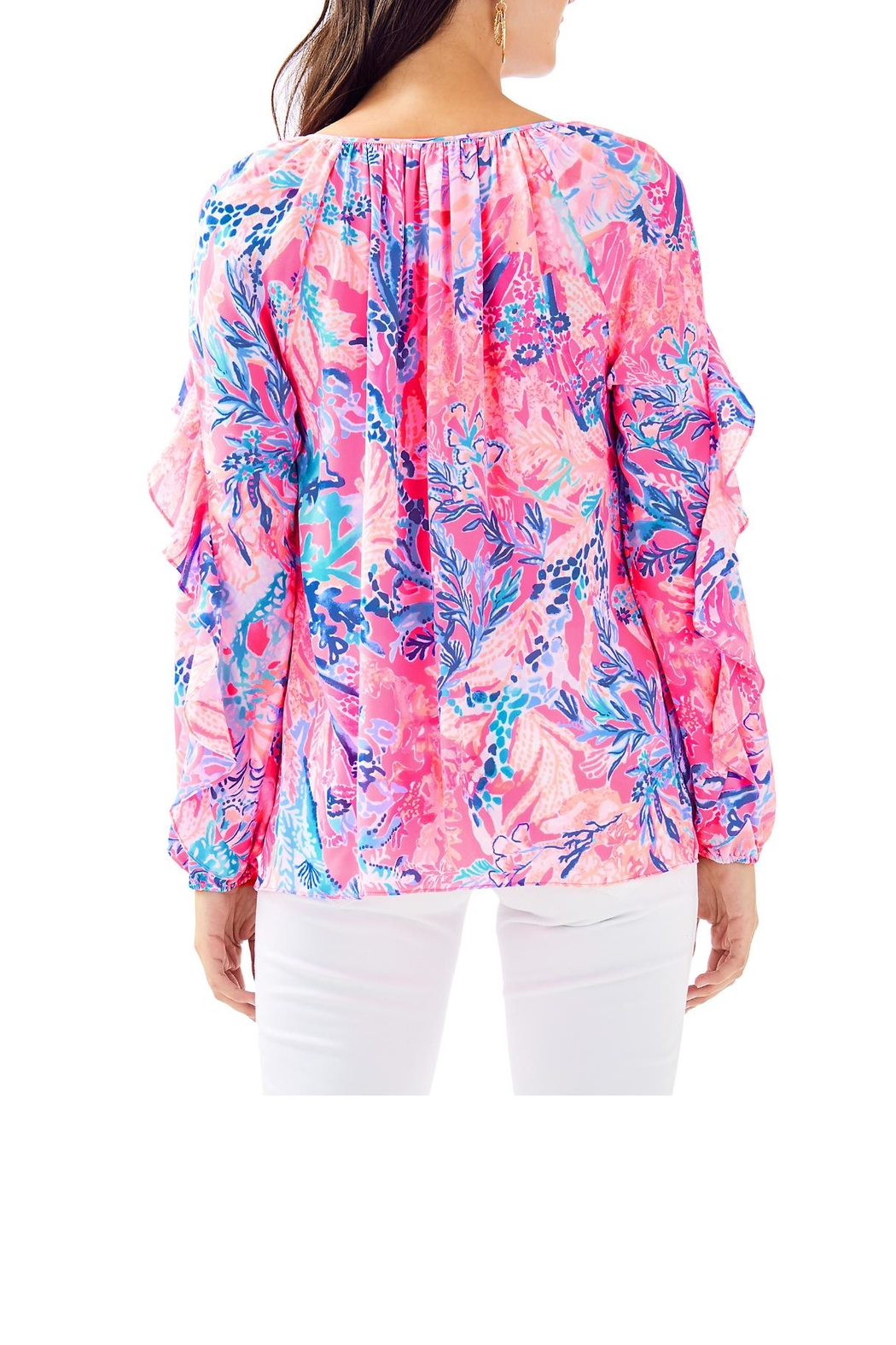 Lilly Pulitzer Elora Top - Front Full Image