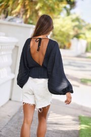 Free People Elouise Blouse - Back cropped