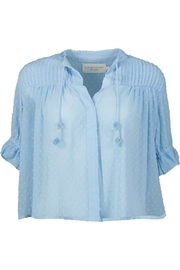 Elizabeth Crosby Elsa Pom Pom Top - Product Mini Image