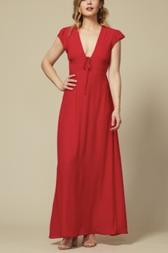 Goldie Elsa Red Dress - Product List Image