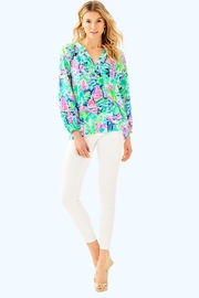 Lilly Pulitzer Elsa Silk Top - Product Mini Image