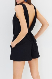 GRACE WILLOW Elyse Black Playsuit - Side cropped