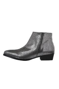 Shoptiques Product: Metalic Leather Booties
