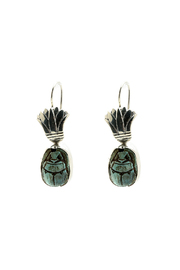Elysium Inc. Scarab Earrings - Product Mini Image