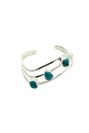 Elysium Inc. Turquoise Wave Cuff - Product Mini Image