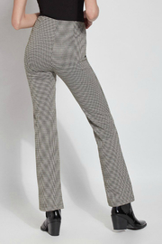 Lysse Elysse Houndstooth Bootcut Pull-on Pant - Side cropped