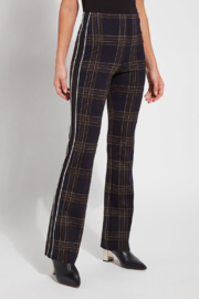 Lysse Elysse Nordic Plaid Pull-on Pant - Front cropped